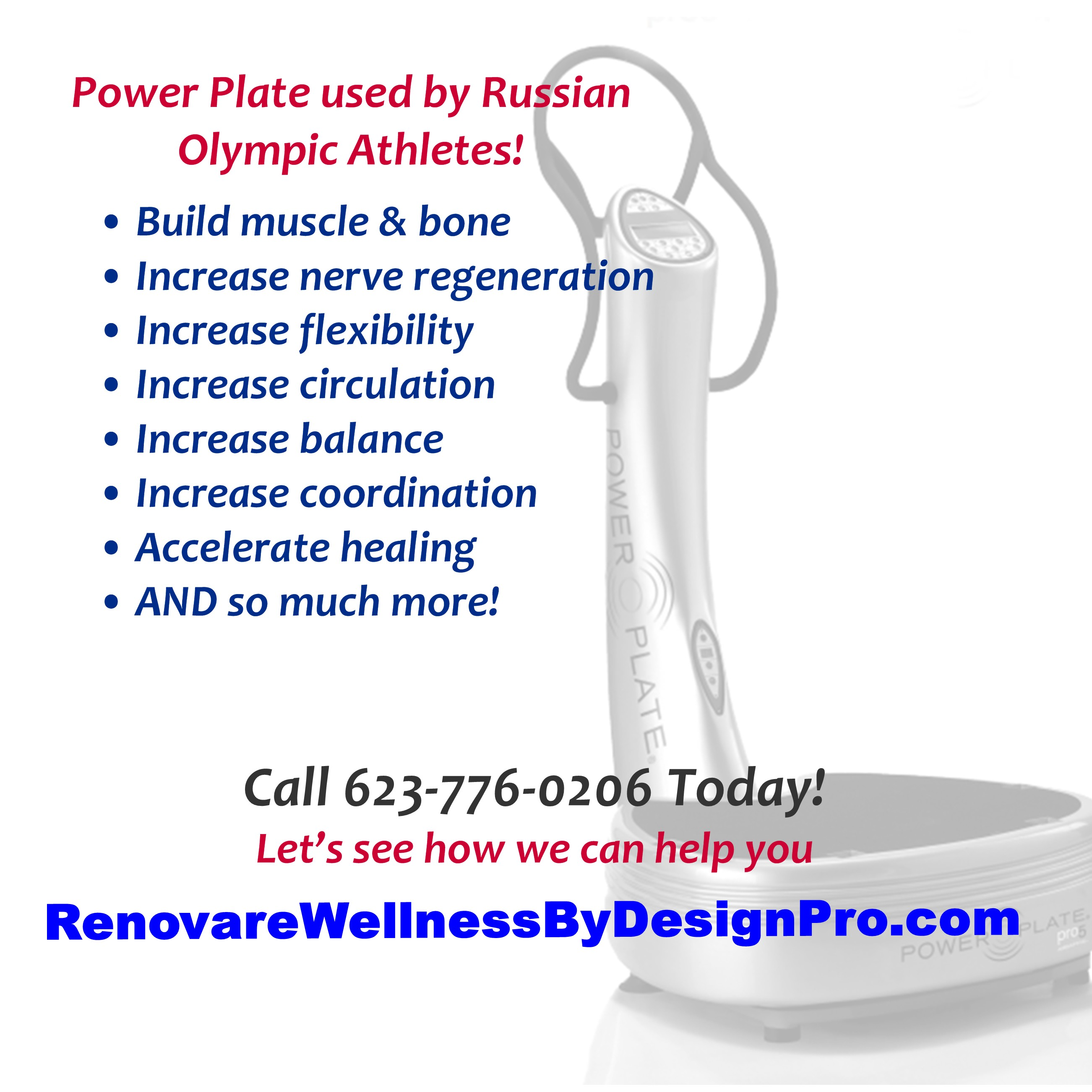 WBD Power Plate Osteopenia Increase Metabolism Osteoporosis Weight Loss Tips Workout Plans